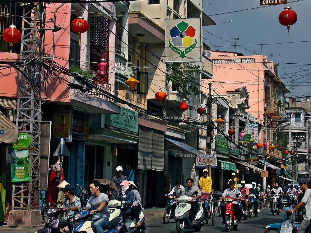 Vietnam, Ho Chi Min City: cholon district.