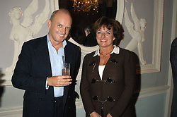 Left to right, NICHOLAS COLERIDGE and the HON.ROSA LAWSON at a party hosted by Tatler magazine to celebrate the publication of Lunar park by Bret Easton Ellis held at Home House, 20 Portman Square, London W1 on 5th October 2005.<br />