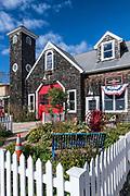 Jamestown Fire Memorial Museum, Jamestown, Rhode Island, USA.