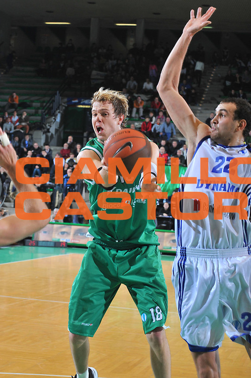 DESCRIZIONE : Treviso Eurocup 2009-10 Regular Season Benetton Gioco Digitale MBC Dynamo Moscow<br /> GIOCATORE : Charles Wallace<br /> SQUADRA : Benetton Gioco Digitale<br /> EVENTO : Eurocup 2009 - 2010<br /> GARA : Benetton Gioco Digitale MBC Dynamo Moscow<br /> DATA : 16/12/2009<br /> CATEGORIA : Passaggio<br /> SPORT : Pallacanestro<br /> AUTORE : Agenzia Ciamillo-Castoria/M.Gregolin<br /> Galleria : Eurocup 2009<br /> Fotonotizia : Berlino Eurocup 2009-10 Regular Season Benetton Gioco Digitale MBC Dynamo Moscow<br /> Predefinita :