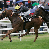 Bright Glow and Ted Durcan winning the 6.25 race