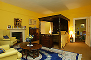 2/4/2002 .Sunday Times Property.The master bedroom at Mount Loftus in Kilkenny..Picture Dylan Vaughan