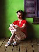 Photo for Fashion Atlanta story on bright, colorful summer women's wear.