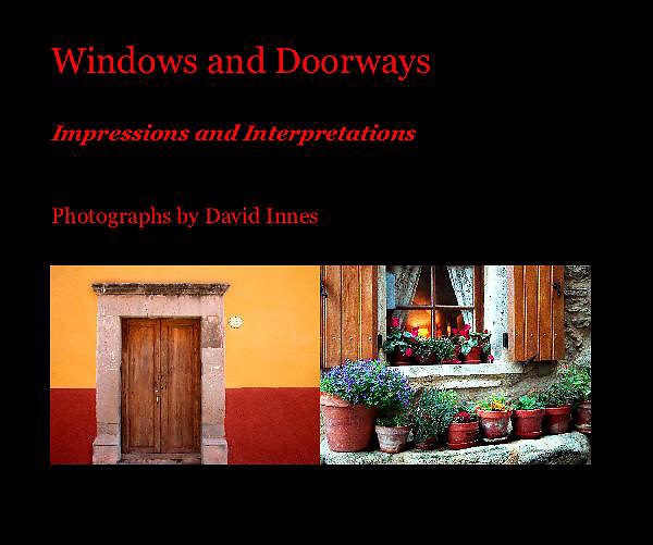 Fine Art Photographs Book by David Innes<br />