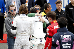 September 1, 2019, Spa-Francorchamps, Belgium: Motorsports: FIA Formula One World Championship 2019, Grand Prix of Belgium, ..A minutes silence in tribute to Formula 2 driver Anthoine Hubert (22.09.1996 - 31.08.2019) (Credit Image: © Hoch Zwei via ZUMA Wire)