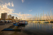 The Tel Aviv marina and yacht club