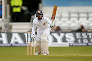 Sri Lanka Kusal Mendis  yells at his partner at the other end during day 3 of the first Investec Test Series 2016 match between England and Sri Lanka at Headingly Stadium, Leeds, United Kingdom on 21 May 2016. Photo by Simon Davies.