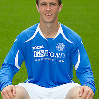 St Johnstone FC...Season 2011-12<br /> Chris Millar<br /> Picture by Graeme Hart.<br /> Copyright Perthshire Picture Agency<br /> Tel: 01738 623350  Mobile: 07990 594431