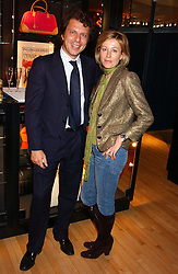 NICCOLO BENVENUTI and JANE WHITFIELD at a party tp celebrate the opening on Sac Freres at 7 Grafton Street, London W1 on 27th October 2005.<br /><br />NON EXCLUSIVE - WORLD RIGHTS