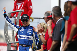 March 11, 2018 - St. Petersburg, Florida, United States of America - March 11, 2018 - St. Petersburg, Florida, USA: Takuma Sato (30) gets introduced to the crowd for the Firestone Grand Prix of St. Petersburg at Streets of St. Petersburg in St. Petersburg, Florida. (Credit Image: © Justin R. Noe Asp Inc/ASP via ZUMA Wire)
