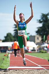 SPOLADORE Lorena, BRA, Long Jump, T11, 2013 IPC Athletics World Championships, Lyon, France