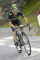 Giovanni Visconti - Movistar - 29.05.2015 - Tour d'Italie - Etape 19 :  Gravellona Toce / Cervinia<br />