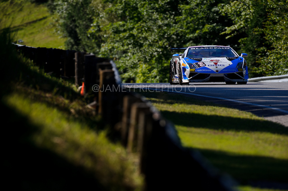#88 Stuart Davidson, GMG Racing, Lamborghini of Vancouver<br /> Round 7<br /> Canadian Tire Motorsport Park <br /> July 12, 2014