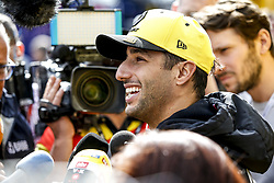 February 19, 2019 - Barcelona, Spain - Motorsports: FIA Formula One World Championship 2019, Test in Barcelona, , #3 Daniel Ricciardo (AUS, Renault Sport F1 Team) (Credit Image: © Hoch Zwei via ZUMA Wire)