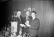28/3/1966<br /> 3/18/1966<br /> 28 March 1966<br /> <br /> Mr. Peter McGlynn; Mr. Joe Hopkins; Mr. Alan Swan at the Beamish and Crawford Bowling Presentation in Portmarnock