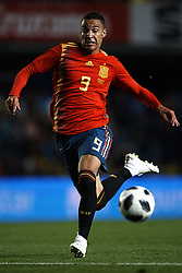 June 3, 2018 - Vila-Real, Castellon, Spain - Rodrigo Moreno (Valencia) during a International friendly match between Spain against Switzerland in La Ceramica Stadium, Villarreal, Spain, on 03 June of 2018. (Credit Image: © Jose Breton/NurPhoto via ZUMA Press)