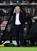 Crystal Palace manager Roy Hodgson during the EFL Cup match between Bournemouth and Crystal Palace at the Vitality Stadium, Bournemouth, England on 15 September 2020.