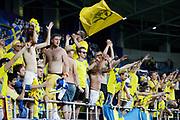 LUBLIN, POLAND - 2017-06-22: Svenska fans hyllar laget efter UEFA U21 matchen mellan Slovakien och Sverige p&aring;  Arena Lublin den 22 juni, 2017 i Lublin, Polen. <br /> Foto: Nils Petter Nilsson/Ombrello<br /> Fri anv&auml;ndning f&ouml;r kunder som k&ouml;pt U21-paketet.<br /> Annars Betalbild.<br /> ***BETALBILD***