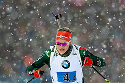March 16, 2019 - –Stersund, Sweden - 190316 Benedikt Doll of Germany competes in the Men's 4x7,5 km Relay during the IBU World Championships Biathlon on March 16, 2019 in Östersund..Photo: Johan Axelsson / BILDBYRÃ…N / Cop 245 (Credit Image: © Johan Axelsson/Bildbyran via ZUMA Press)