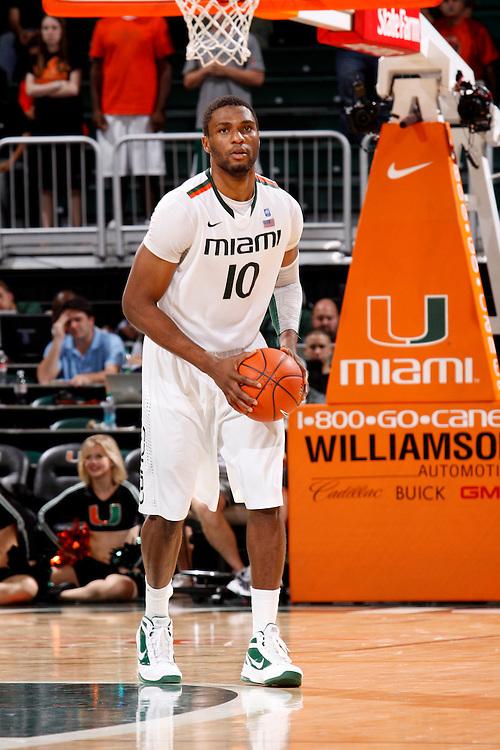2012 Miami Hurricanes Men's Basketball vs UMass