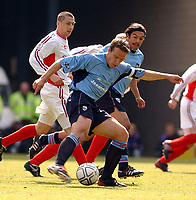 Fotball<br /> Skottland 2003<br /> <br /> Dundee 1 v Inverness Caley Thistle 0<br /> Scottish Cup semi final<br /> Hampden Park, Glasgow.<br /> Foto: Ian  Stewart, Digitalsport<br /> Sunday April 20th 2003<br /> Gavin Rae