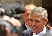 George Clooney Milan Court