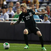 Andy Keogh, Ireland, in action during the Spain V Ireland International Friendly football match at Yankee Stadium, The Bronx, New York. USA. 11th June 2013. Photo Tim Clayton