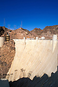 Hoover Dam and the Visitor Center, Hoover Dam National Historic Landmark, Nevada