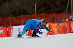 Alpine Skiing Super Combined Slalom at the 2014 Sochi Winter Paralympic Games, Russia