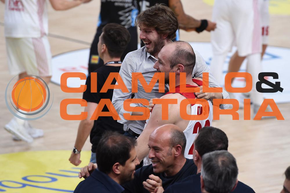 Cusin Marco<br /> Dolomiti Energia Trento - EA7 Emporio Armani Playoff Finale gara 6<br /> Legabasket serieA 2017-2018<br /> Trento  15/06/2018<br /> Foto Ciamillo-Castoria /Thomas Barea