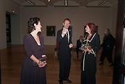 MELANIE CLORE; SIR NICHOLAS SEROTA; LADY FOSTER, Picasso and Modern British Art, Tate Gallery. Millbank. 13 February 2012