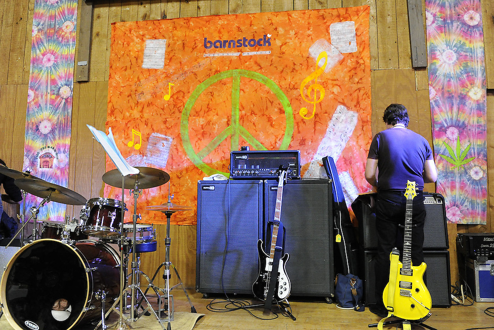 NAPERVILLE, IL- NOVEMBER 20:  Barnfest 2010 was held at The Barn, a famous youth recreation center located in Naperville, Illinois, to celebrate its 45th anniversary on November 20, 2010.  Invited musicians from the bands that played there from 1965-1973 rejoined for a night of music and memories. (Photo by Ron Vesely)