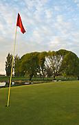 Idaho, Cassia County, Burley. Public golf course along the Snake River.