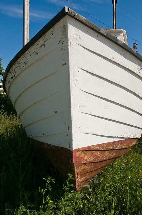 Old Boat at Knapps Narrows, Tilghman Island, Maryland USA