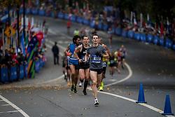 05-11-2017 USA: NYC Marathon, New York<br /> De dag van de marathon, 42 km en 195 meter door de straten van Staten Island, Brooklyn, Queens, The Bronx en Manhattan / Bram Som