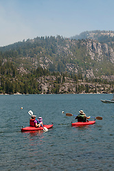 Pinecrest Lake, Watersports, Pinecrest, California, USA.  Photo copyright Lee Foster.  Photo # california122524