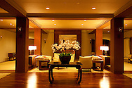 """The Halekulani Hotel, the Hawaiian name meaning House Befitting Heaven, located on Waikiki beach in Honolulu, Hawaii offers stunning views of Diamond Head in a historic, secluded and exclusive setting.  The """"living room"""""""