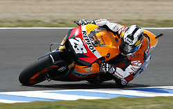 01.05.2010, Motomondiale, Jerez de la Frontera, ESP, MotoGP, Race, im Bild DANI PEDROSA. EXPA Pictures © 2010, PhotoCredit: EXPA/ Alterphotos/ J. M. COLOMO / SPORTIDA PHOTO AGENCY