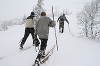 Ski history from Morgedal, Norway <br />