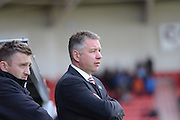 Doncaster Rovers Manager Darren Ferguson during the Sky Bet League 1 match between Doncaster Rovers and Coventry City at the Keepmoat Stadium, Doncaster, England on 23 April 2016. Photo by Stephen Connor.
