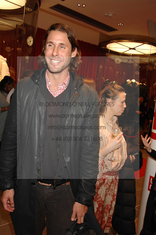 DAVID DE ROTHSCHILD at a party to celebrate the opening of the new Uniqlo store at 331 Oxford Street, London W1 on 6th November 2007.<br />