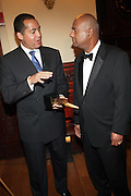 l to r:  R. Donahue Peeples and Noel Hankin at The 2009 NV Awards: A Salute to Urban Professionals sponsored by Hennessey held at The New York Stock Exchange on February 27, 2009 in New York City. ....