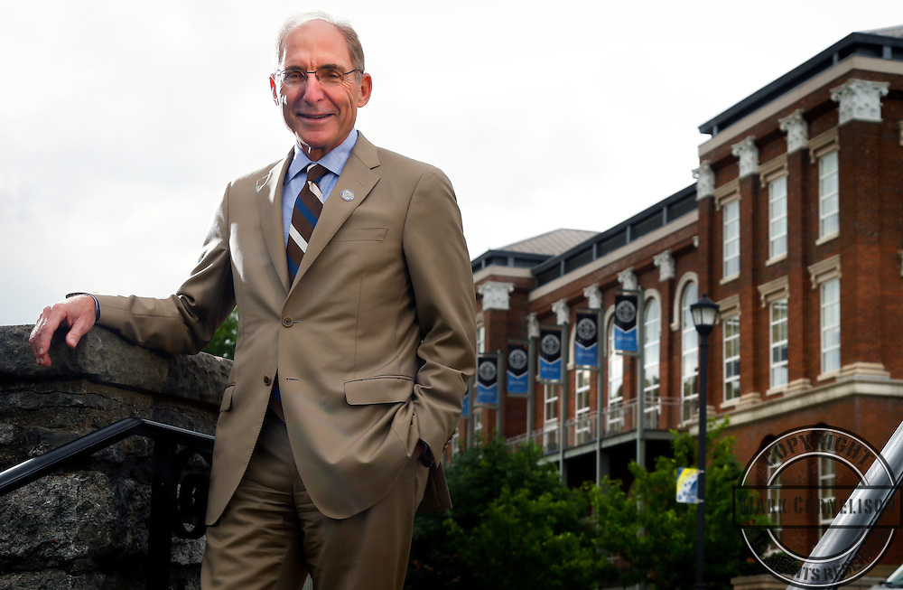 Dr. Eli Capilouto for K book  on Friday  June 1, 2014 in Lexington, Ky. Photos by Mark Cornelison