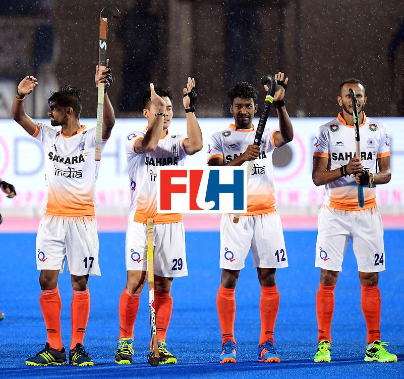 Odisha Men's Hockey World League Final Bhubaneswar 2017<br /> Match id:19<br /> India v Argentina<br /> Foto: Line Up<br /> COPYRIGHT WORLDSPORTPICS FRANK UIJLENBROEK