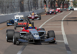 March 9, 2019 - St. Petersburg, FL, U.S. - ST. PETERSBURG, FL - MARCH 09: David Malukas (79) during the Start of the Indy Lights Race St. Petersburg on March 9 in St. Petersburg, FL. (Photo by Andrew Bershaw/Icon Sportswire) (Credit Image: © Andrew Bershaw/Icon SMI via ZUMA Press)
