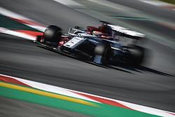 February 28, 2019 - Barcelona, Catalonia, Spain - ANTONIO GIOVINAZZI (ITA) from team Alfa Romeo drives in his C38 during day seven of the Formula One winter testing at Circuit de Catalunya (Credit Image: © Matthias OesterleZUMA Wire)
