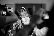 Rene Burri, fotografo de la Agencia Magnum durante su visita en Caracas, Venezuela. 04-08-08 (ivan gonzalez)