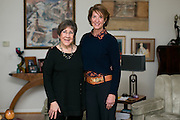 Shirley King and Melinda Andolina at King's home in Rochester on Monday, December 28, 2015. King and Andolina are co-chairs of the Rochester Women's Giving Circle, a group of local women whose combined philanthropy assists women and girls attain financial self-sufficiency.