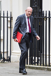 Downing Street, London, September 9th 2016.  Work and Pensions Secretary Damian Green arrives at Downing street for the weekly cabinet meeting following the Parliamentary summer recess.