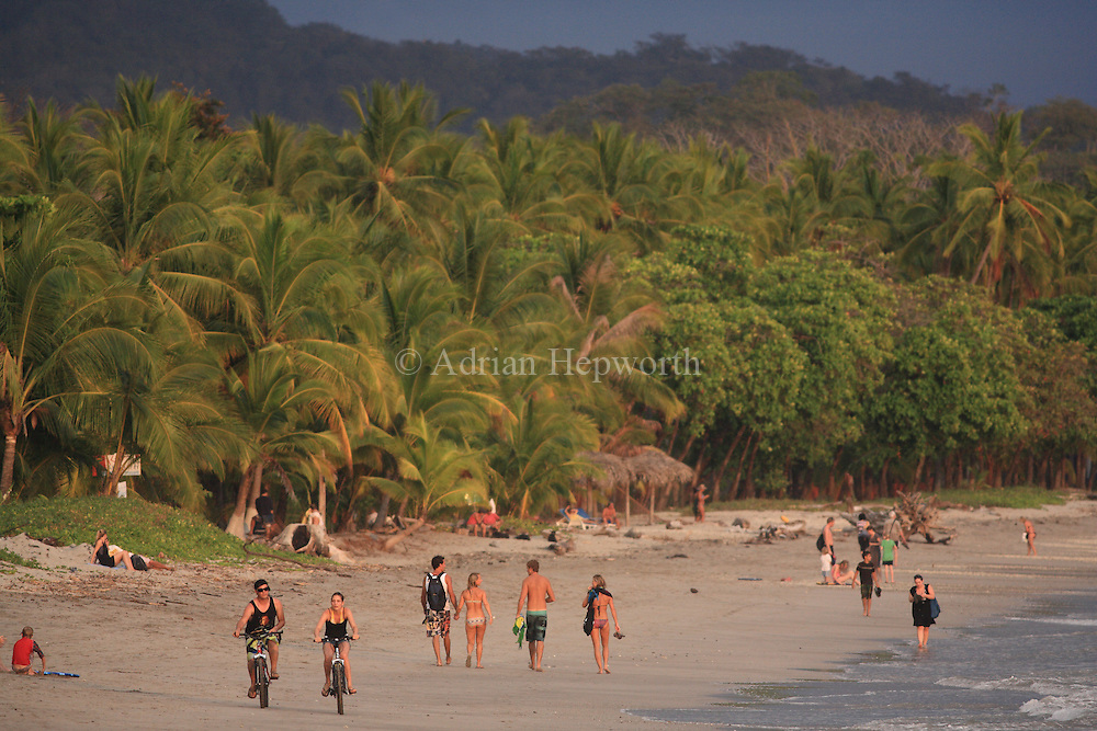 Playa S&aacute;mara, Guanacaste, Pacific coast of Costa Rica.<br />